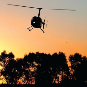 Melbourne VIP 30 Min Sunset Champagne Helicopter Flight