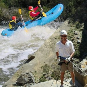 Summer Abseiling & White Water Rafting on the Collie River