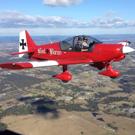 Sydney Aerobatic Joy Flight in a Robin 2160