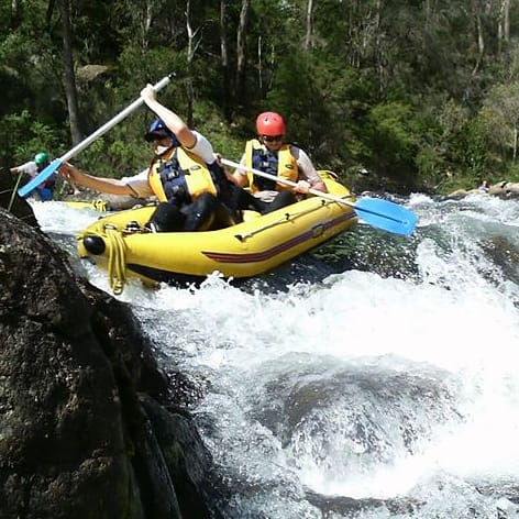 White Water Rafting Day near Melbourne