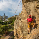 Children 10 years and above and join our Brisbane Rock Climbing Experience