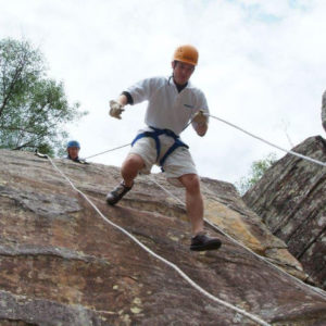 Adrenaline rush at Glenworth Valley Abseiling, Central Coast