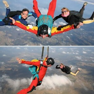 Skydiving Lessons, Sydney, AFF Stage 1