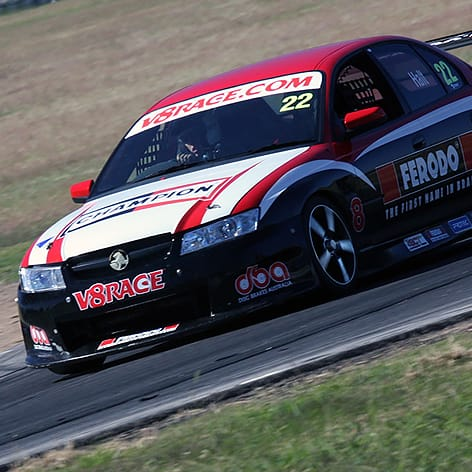 V8 Race Car Driving Experience, Winton, 6 Laps