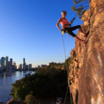 Brisbane Abseiling at Sunset