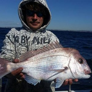 Deep sea fishing off Sydney. Great snapper on offer.