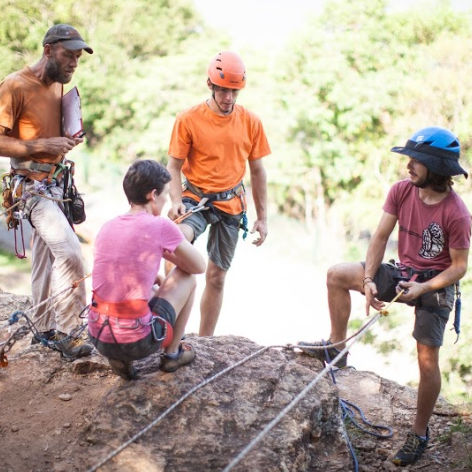 Brisbane Abseiling Course, Accredited Abseil Single Pitch Course