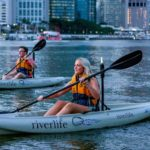 Friday Night Paddle and Prawns Brisbane River Qld